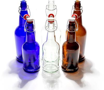 E.Z.Cap authentic swing top bottles